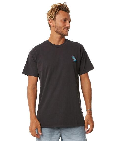 BLACK MENS CLOTHING BILLABONG TEES - 9572027BLK