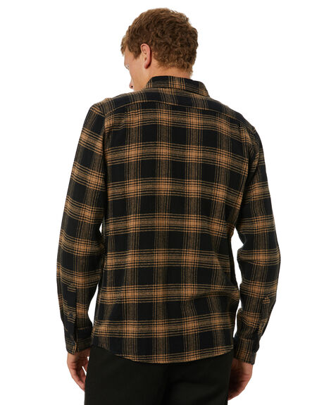 BLACK MENS CLOTHING VOLCOM SHIRTS - A0531904BLK