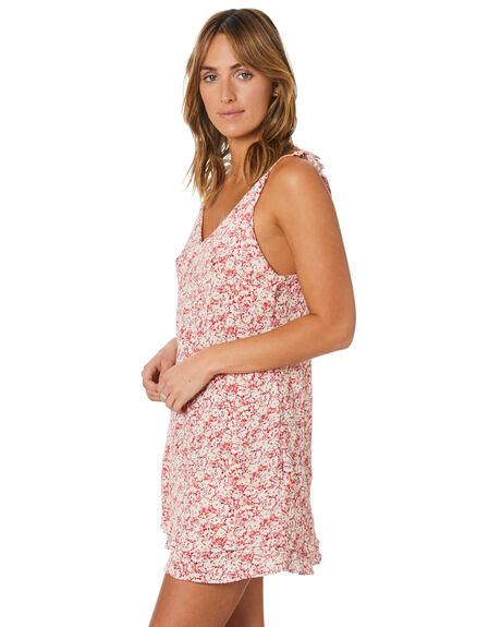 RED VELVET WOMENS CLOTHING RUSTY DRESSES - DRL1130RDV