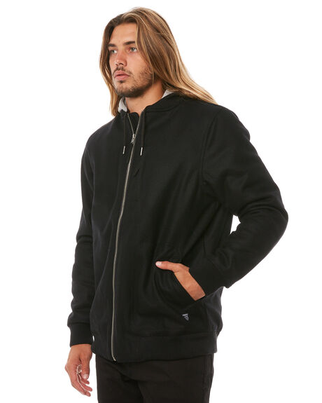 BLACK MENS CLOTHING DEPACTUS JACKETS - D5183381BLACK