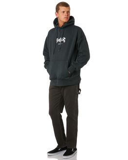 MERCH BLACK MENS CLOTHING THRILLS JEANS - TDP-421MBMBLK