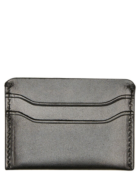 BLACK MENS ACCESSORIES ACADEMY BRAND WALLETS - 20S002BLK