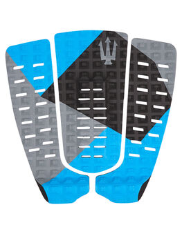 BLACK BLUE GREY SURF HARDWARE FAR KING TAILPADS - 1218BLKBG