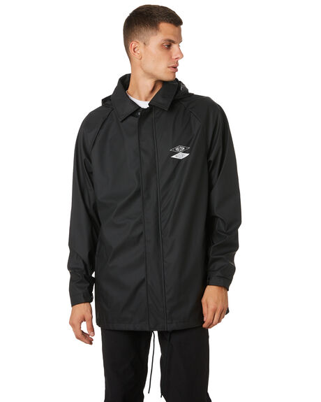 BLACK MENS CLOTHING VOLCOM JACKETS - A1511905BLK