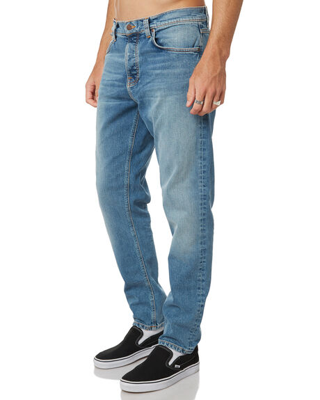 PURE BLUE MENS CLOTHING NUDIE JEANS CO JEANS - 113101PUBL