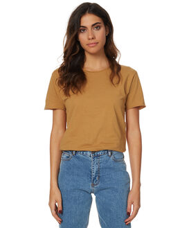 MUSTARD WOMENS CLOTHING SILENT THEORY TEES - SS4083020MSTRDW