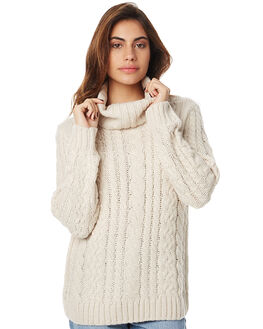 STONE WOMENS CLOTHING ELEMENT KNITS + CARDIGANS - 276426ASTN