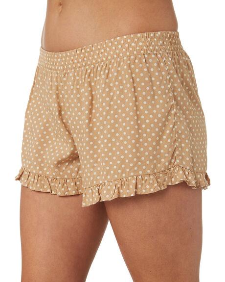 SAND WOMENS CLOTHING RHYTHM SHORTS - OCT18W-WS03SAN