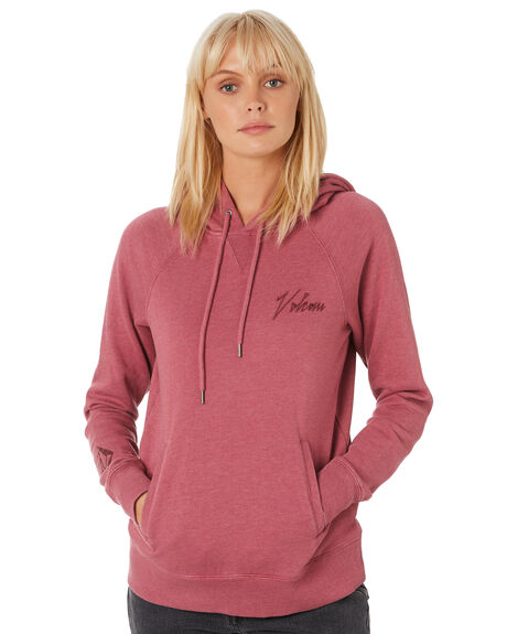 DUSTY ROSE WOMENS CLOTHING VOLCOM JUMPERS - B3111980DRO