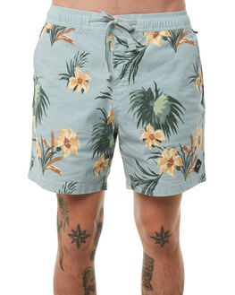 SKY BLUE MENS CLOTHING THE CRITICAL SLIDE SOCIETY BOARDSHORTS - BS1802SKY