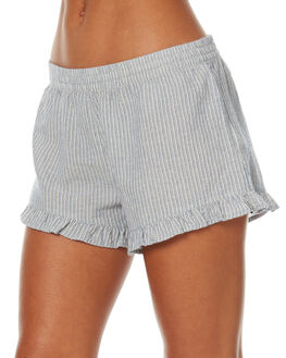 CARIBBEAN WOMENS CLOTHING RHYTHM SHORTS - JUL17G-SH01CARB