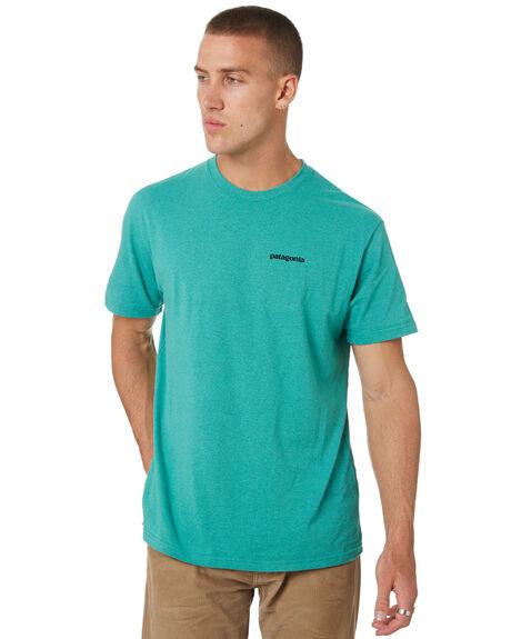 BERYL GREEN MENS CLOTHING PATAGONIA TEES - 39174BRYG