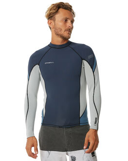 SLATE GREY BLUE SURF RASHVESTS O'NEILL MENS - 4640JC2