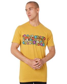 MUSTARD MENS CLOTHING KROOKED TEES - 51023063LMUST