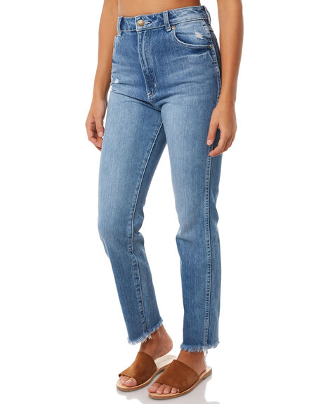 ASTA BLUE OUTLET WOMENS ROLLAS JEANS - 124733560