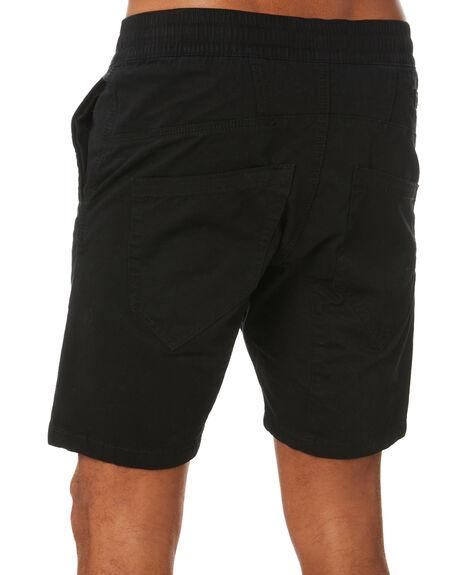 BLACK MENS CLOTHING NENA AND PASADENA SHORTS - NPMCS2001BLCK