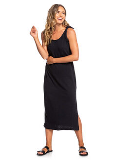 TRUE BLACK WOMENS CLOTHING ROXY DRESSES - ERJKD03281-KVJ0
