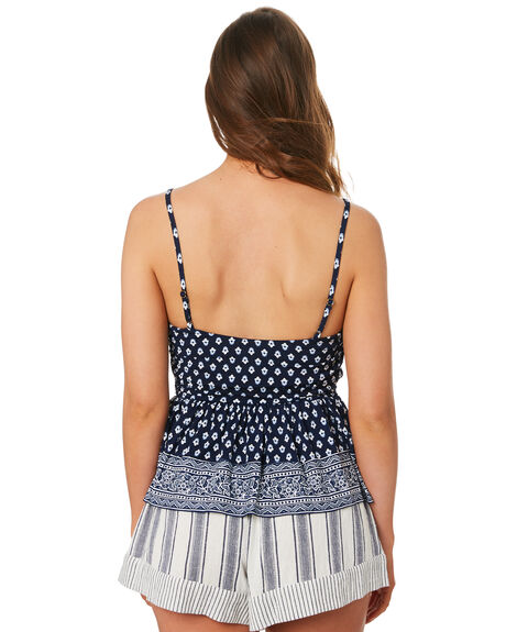 NAVY WOMENS CLOTHING TIGERLILY FASHION TOPS - T392031NVY