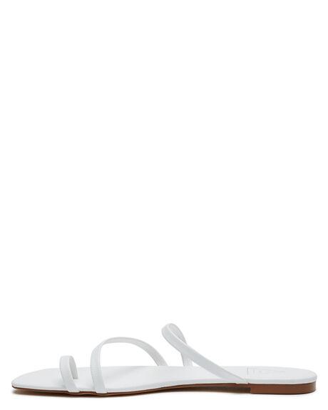 WHITE OUTLET WOMENS ST SANA SLIDES - ST211S213WHI