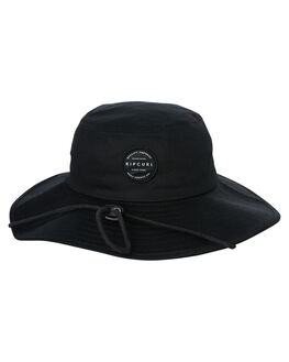 BLACK MENS ACCESSORIES RIP CURL HEADWEAR - CHAEB10090