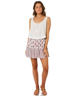OFF WHITE WOMENS CLOTHING RIP CURL SKIRTS - GSKCY10003