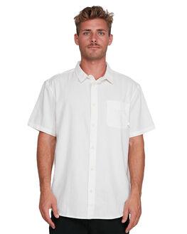 SNOW WHITE MENS CLOTHING QUIKSILVER SHIRTS - EQYWT03913-WBK0