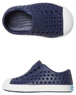 REGATTA BLUE KIDS BOYS NATIVE FOOTWEAR - 13100100-4201