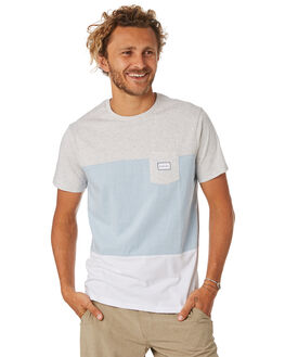 WHITE MENS CLOTHING RIP CURL TEES - CTEOE21000