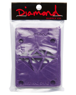 PURPLE BOARDSPORTS SKATE DIAMOND SUPPLY CO ACCESSORIES - 016001118PUR