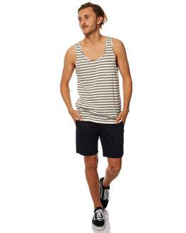 CLASSIC OLIVE MENS CLOTHING RHYTHM SINGLETS - JUL17-CS02-OLI