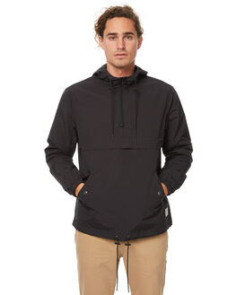 BLACK MENS CLOTHING ACADEMY BRAND JACKETS - 17W231BLK