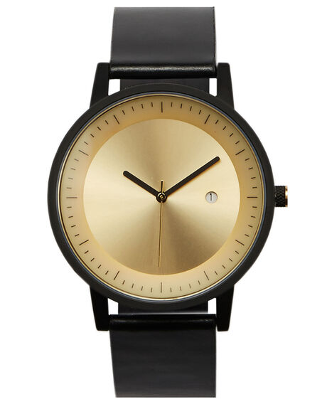 BLACKGOLD OUTLET MENS SIMPLE WATCH CO WATCHES - SW03-06BLKGL
