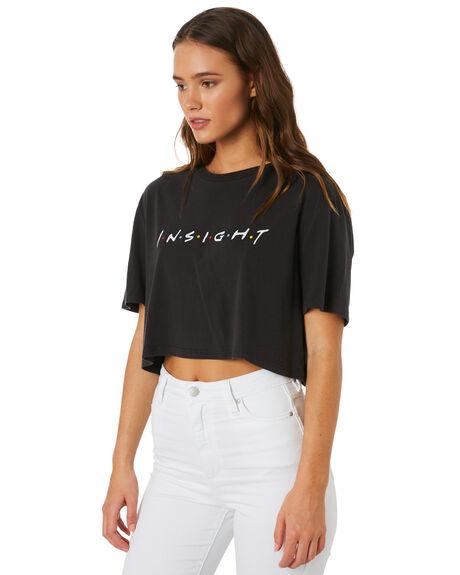 BLACK WOMENS CLOTHING INSIGHT TEES - 5000003553BLK