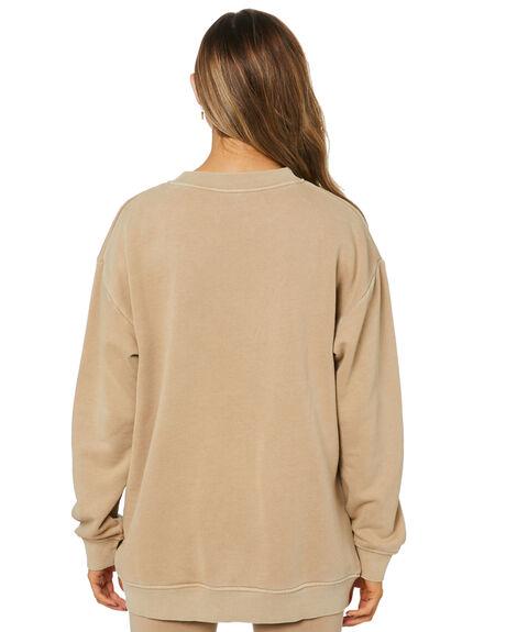 MOCHA WOMENS CLOTHING NUDE LUCY JUMPERS - NU24217MOCHA