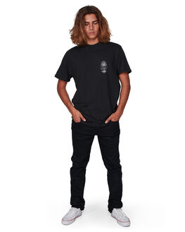 BLACK MENS CLOTHING BILLABONG TEES - BB-9507060-BLK