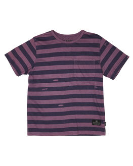 WASHED GRAPE KIDS BOYS MUNSTER KIDS TOPS - MK191TE02WSHGP