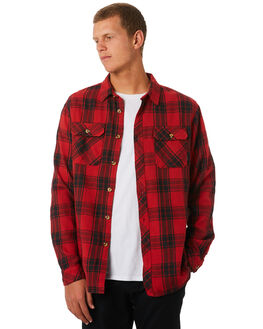 RED MENS CLOTHING BILLABONG SHIRTS - 9595220RED
