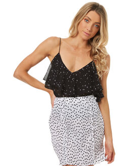BLACK STAR WOMENS CLOTHING THE FIFTH LABEL FASHION TOPS - 40171123-8BLK