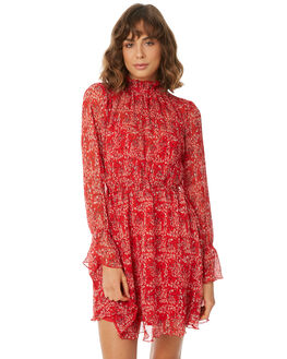 SCARLET FREESIA WOMENS CLOTHING THE FIFTH LABEL DRESSES - 40180434-10SCARL