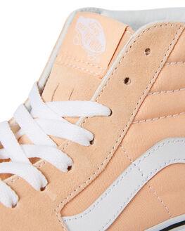 BLEACHED APRICOT WOMENS FOOTWEAR VANS SNEAKERS - SSVNA38GEU5YPNKW