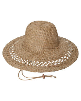 NATURAL WOMENS ACCESSORIES LACK OF COLOR HEADWEAR - DOMINSTRW1NAT