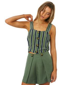 MIRA STRIPE WOMENS CLOTHING SANCIA FASHION TOPS - 697AMRST