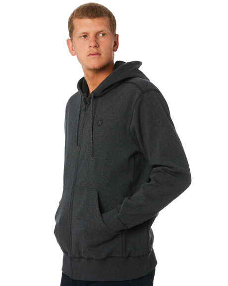 BLACK HEATHER MENS CLOTHING HURLEY JUMPERS - CD6069032