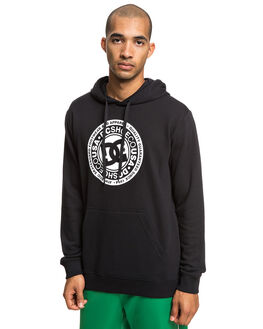 BLACK MENS CLOTHING DC SHOES JUMPERS - EDYSF03183-KVJ0