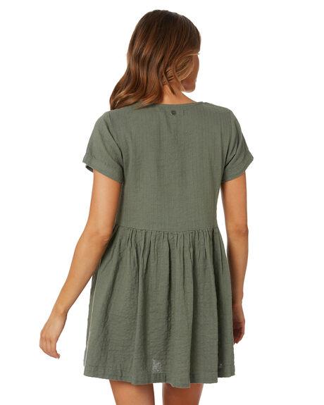 GREEN WOMENS CLOTHING RIP CURL DRESSES - GDRJC10060