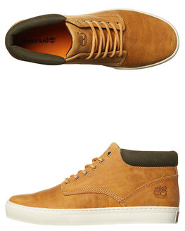 BURNISHED WHEAT MENS FOOTWEAR TIMBERLAND BOOTS - A1JU1WHEA