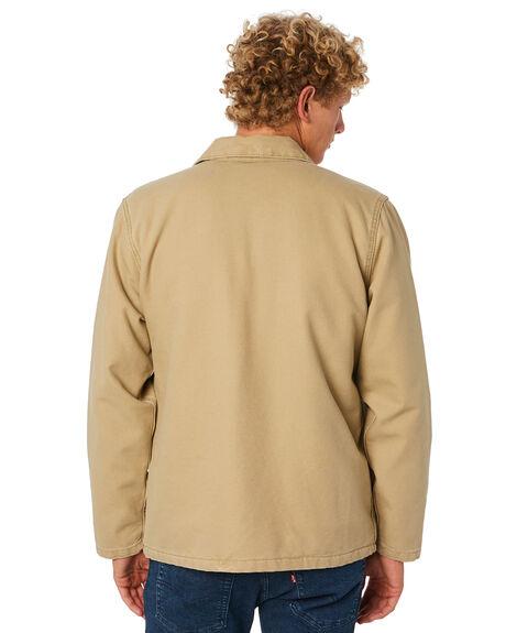 HARVEST GOLD MENS CLOTHING LEVI'S JACKETS - 86415-0000HRVGD
