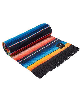BLACK MENS ACCESSORIES SLOWTIDE TOWELS - ST121BLK