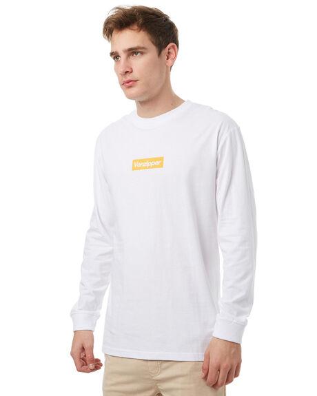 WHITE MENS CLOTHING VONZIPPER TEES - 3971007WHT