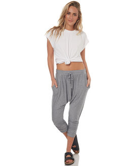 SILVER INDIGO STRIPE WOMENS CLOTHING BETTY BASICS PANTS - BB563S17SILVER